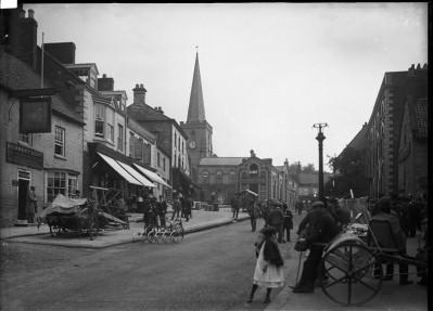 Wylie: street scene in British town