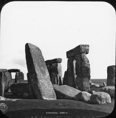 "J. V. : England: Wiltshire: ""4041 Stonehenge J.V."" ""STONEHENGE. 3966 J.V."" ""XY.[obscured character]e 180.1"" before 1901"